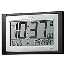 リズム時計工業 電波掛置兼用時計「パルデジットコンビR096」 8RZ096‐023