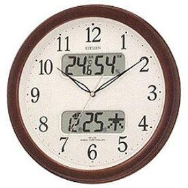 リズム時計工業 電波掛け時計「ネムリーナカレンダー」 4FYA01‐006