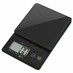 ドリテック デジタルスケール 「ストリーム」(2kg) KS‐245BK (ブラック)