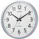 リズム時計工業 電波掛け時計(防滴防塵タイプ)「スペイシーアクア493」 8MY493‐019(送料無料)