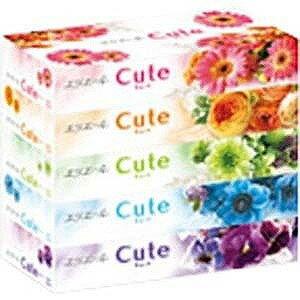大王製紙 エリエール ティシューキュート 160組×5箱 エリエールティシューキュート(160