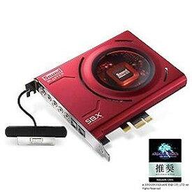 クリエィティブ サウンドカード 「PCI Express」PCIe Sound Blaster Z SB‐Z