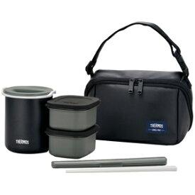 サーモス 保温弁当箱(茶碗1.8杯分) DBQ‐362‐MTBK (マットブラック)