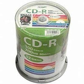 磁気研究所 52倍速対応 データ用CD−Rメディア(700MB・100枚) HDCR80GP100