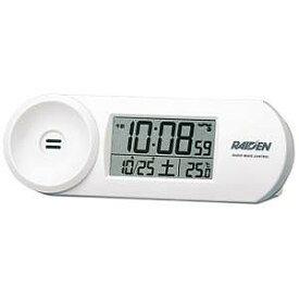 セイコー 電波目覚まし時計 NR532W(白)