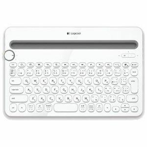 ロジクール ワイヤレスキーボード マルチデバイスキーボード(84キー) K480WH