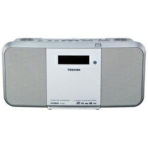東芝 「ワイドFM対応」CDラジオ(ラジオ+CD+SD)(ホワイト) TYCRX71(送料無料)