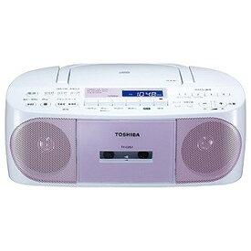 東芝 「ワイドFM対応」CDラジオカセットレコーダー TY‐CDS7 P (ピンク)