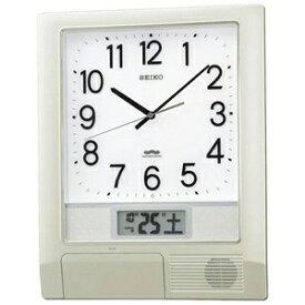 セイコー 電波掛け時計「プログラムクロック」 PT201S