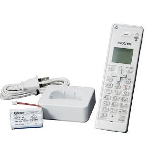 ブラザー コードレス増設子機 BCL‐D120K‐WH (ホワイト)(送料無料)