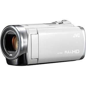 JVC・ビクター ハイビジョンビデオカメラ SD対応内蔵32GB GZ‐E60‐W (ホワイト)(送料無料)