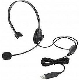 エレコム ヘッドセット「USB」HS−HP21Uシリーズ HS‐HP21UBK (ブラック)