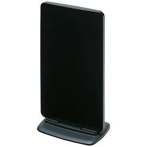 マスプロ 地上デジタル放送対応アンテナ(ブースター内蔵型) UTA2BBK (ブラック)