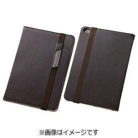 レイ・アウト iPad mini 4用ブックレザーケース 合皮 ダークブラウン RT‐PM3LBC1/K