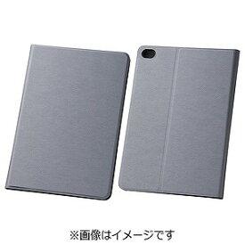 レイ・アウト iPad mini 4用スリムレザーケース 合皮 シルバー RT‐PM3SLC1/SV