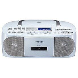 東芝 (ワイドFM対応)CDラジカセ(ラジオ+CD+カセットテープ) TYCDH7