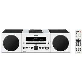 YAMAHA 「ワイドFM対応」Bluetooth対応 ミニコンポ MCR‐B043W (ホワイト)