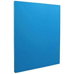 セキセイ クリヤーファイル「高透明」A4−S 20ポケット KP−2512 (ブルー)