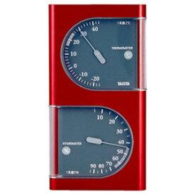 タニタ 温湿度計(メタリックレッド) TT‐518‐MR (メタリックレッド)