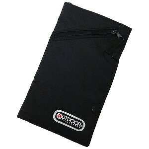 OUTDOOR パスポートケース OD021 (ブラック)