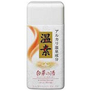 アース製薬 温素 白華の湯 600g(ボディケア用品) オンソシラハナノユ(600