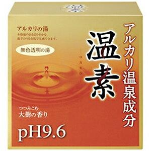アース製薬 温素 アルカリ温泉成分 無色透明の湯 30g×15包(ボディケア用品) オンソ15H