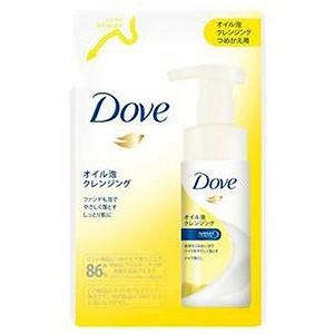 日本リーバ 「DOVE」オイル泡クレンジング つめかえ用(130ml) ダヴオイルアワカエ(130