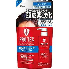 ライオン PRO TEC 頭皮ストレッチシャンプー つめかえ用 230g プロテクSPカエ(230