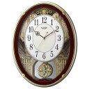 リズム時計工業 電波からくり時計「スモールワールドプラウド」 4MN523RH06(送料無料)
