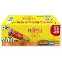 富士通 「単3形乾電池」40本 アルカリ乾電池「ロングライフ」 LR6FL(40S)