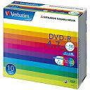 三菱化学 データ用DVD−R(1−16倍速/4.7GB)10枚パック DHR47JP10V1