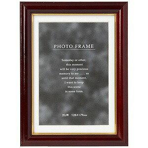 DNPフォトルシオ 写真立て「メモリーズ」(キャビネ(2L)判/ブラウン) C018(ブラ
