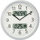 シチズン 電波掛け時計「ネムリーナカレンダー」 4FYA01‐019(送料無料)