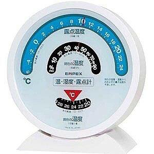 エンペックス 露点計付き温湿度計 TM‐2601