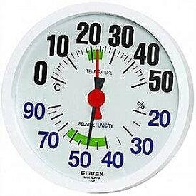 エンペックス 温湿度計「ルシード」 TM‐2671