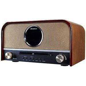 ドウシシャ SANSUI Bluetooth対応 CDステレオ「ワイドFM対応」 SMS‐800BT(送料無料)