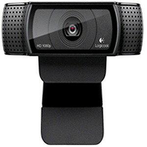 ロジクール WEBカメラ「USB・300万画素」Logicool HD Pro Webcam C920r (ブラック)(送料無料)
