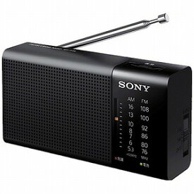 ソニー 「ワイドFM対応」FM/AMハンディーポータブルラジオ ICF‐P36 C