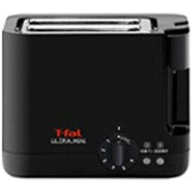 ティファール ポップアップトースター ULTRA MINI(ウルトラミニ) [920W/食パン2枚] TT2118JP (ソリッドブラック)