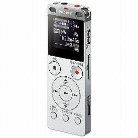 ソニー 「ワイドFM対応」リニアPCMレコーダー「8GB」 ICD‐UX565FSC (シルバー)