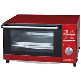 ピエリア オーブントースター [1200W/食パン4枚] DOT‐1505‐RD