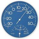 シチズン 温湿度計 TM108−4 9CZ056−004(青) 9CZ056004TM108(アオ