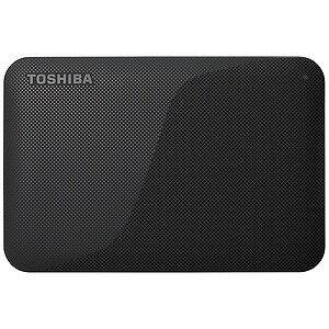 東芝 ポータブルHDD 1TB「USB 3.0・Mac/Win」HD−ACシリーズ HD‐AC10TK (ブラック)(送料無料)