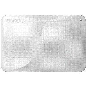 東芝 ポータブルHDD 1TB「USB 3.0・Mac/Win」HD−ACシリーズ HD‐AC10TW (ホワイト)(送料無料)