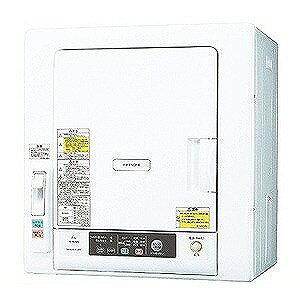 日立 衣類乾燥機(乾燥6.0kg) DE‐N60WV‐W (ピュアホワイト)(標準設置無料)