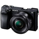 ソニー ミラーレス一眼カメラ α6300 パワーズームレンズキット(ブラック) ILCE6300L(送料無料)