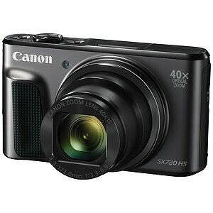 Canon コンパクトデジタルカメラ PowerShot(パワーショット) SX720 HS (ブラック)(送料無料)