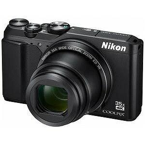 ニコン コンパクトデジタルカメラ COOLPIX(クールピクス) A900(ブラック)(送料無料)