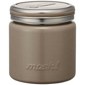 ドウシシャ フードポット「mosh!」(容量300ml) DMFP300‐BR (ブラウン)