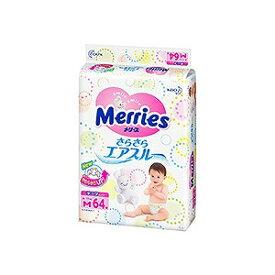 花王 Merries(メリーズ) さらさらエアスルー テープ Mサイズ 64枚